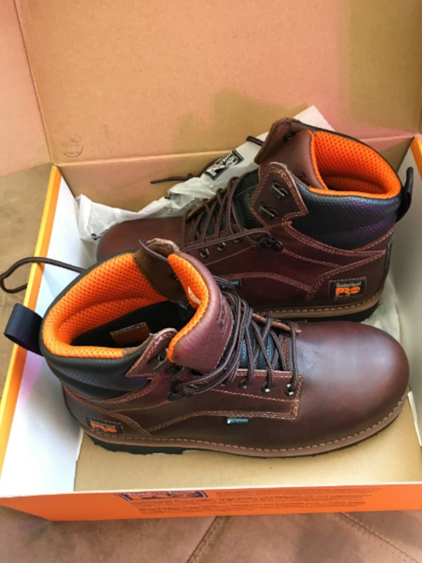 NEW Timberland PRO Work Boots - Size 9 4