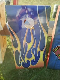 Cool blue flame cornhole boards  Manchester, 03102