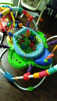 baby's green and blue jumperoo Dallas, 75248