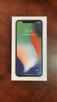 iPhone X 64GB open box Montréal, H3J 1A7