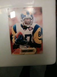 st.louis Rams Wr Nate Lewis Card 41 km