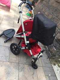Bugaboo geico Baby's red and black umbrella stroller 214 mi