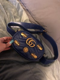 Blue Gucci belt bag Rockville, 20852
