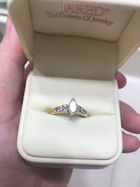 Stunning wedding set from Jared's!Must see in person!!!!