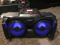 black and purple Sony Xplod subwoofer St Catharines, L2N 3N3