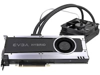 Video Card EVGA GTX-1070 Hybrid factory watercooled - almost new Glenn Dale