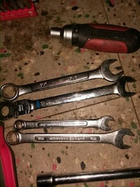 three stainless steel combination wrenches Greenwood, 29646