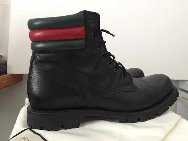 Size 11 - Gucci Marland Leather Boots