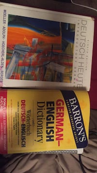 German one textbook w/ German to English dictionary  Cloquet, 55720