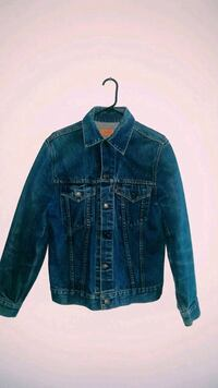 blue denim button-up jacket Mississauga, L5V