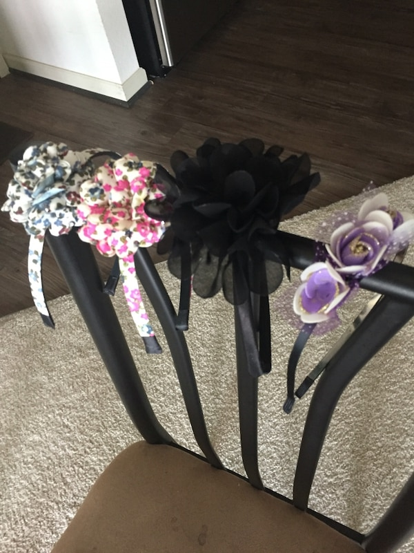 four flower headbans