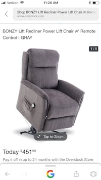 Recliner; Bonzy Lift Chair Denver, 80231