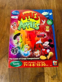 Disney Apples to Apples Board Game