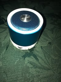 white and blue portable speaker Whitby, L1N 1Z8