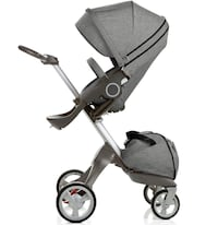 Stokke Explory Stroller with bassinet in excellent condition null