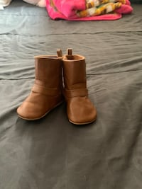 little brown Boots