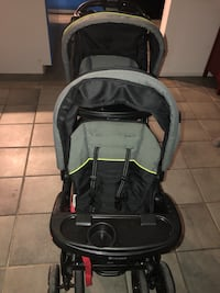 Baby's black and gray stroller Winter Park, 32792