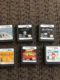 Nintendo DS games & Case