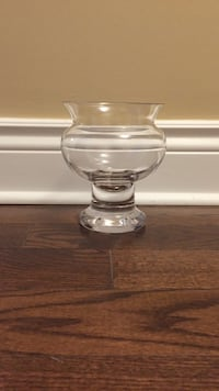 Glass hurricane candle holder Mont-Royal, H3R 1G3