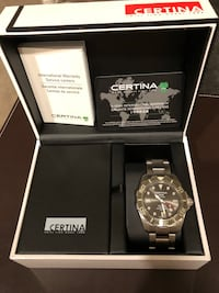 Limited Edition Certina DS Action Titanium Men's Watch - high-end Swiss made designer watch.  2384 mi