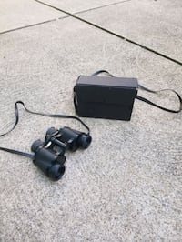 Binoculars with Carrying Case