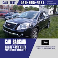 2010 GMC Acadia SLT1 Warrenton, 20186