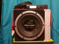 Pioneer Championship Series Bassworx Subwoofer  Calgary, T2E 1A1
