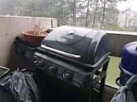 black and gray gas grill Mississauga, L5R 3E6