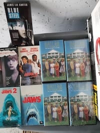 Various movies on VHS...The whole lot for $100 Toronto, M3L 1M4