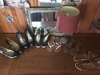 Assorted pairs of shoes and sandals Denham Springs, 70726