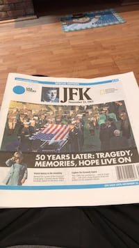 2013 full USA 50 year anniversary edition of JFK assassination in 1963