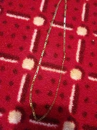 Gold plated chain necklace Paterson, 07503