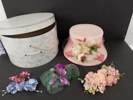 Vintage Hat, Accessories and Box