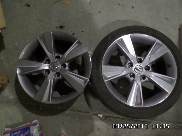 Used Acura ILX OEM Wheels ONLY For Sale In Summerville - Acura ilx wheels