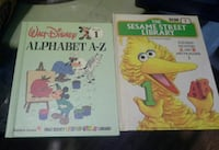 Vintage Disney and Sesame Street Educational Books