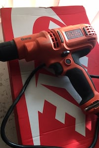 Black + Decker power drill