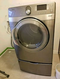 gray Samsung front-load clothes washer Madison, 35756