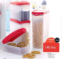 tupperware 4 lü oval dizayn