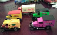 five plastic truck toys Tampa, 33605