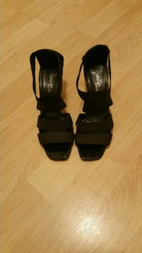 Vaneli Black Strappy High Heels Shoes (worn once) Seattle, 98144