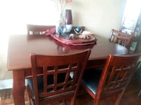 brown wooden dining table set Hamilton, L9A 1P2