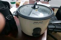 Black and Decker Rice Cooker $10 pickup Mississauga  Mississauga, L5A 1W7