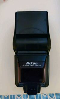 Nikon SB-24 speedlight flash