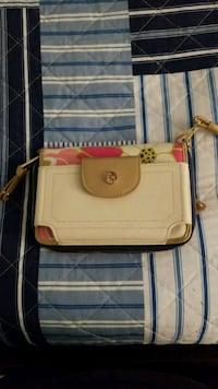 white and brown leather crossbody bag Palm Coast, 32164