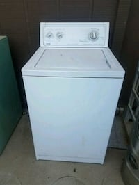 white top-load clothes washer Turlock