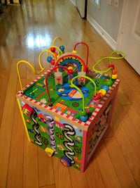 My Busy Town - Activity Cube - Wood  Vaughan, L4H 0M7