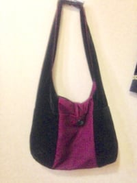 Women's red and black shoulder bag Winnipeg, R2L 1P8
