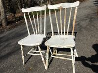 Vintage shabby chic chairs Saint James, 11780