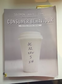 """Consumer Behavior"" (6th Canadian edition) Toronto, M2K 3C2"
