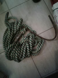 Rope and homemade hook Kitchener, N2A 2J2